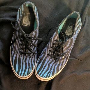 Vans Zebra fade sneakers
